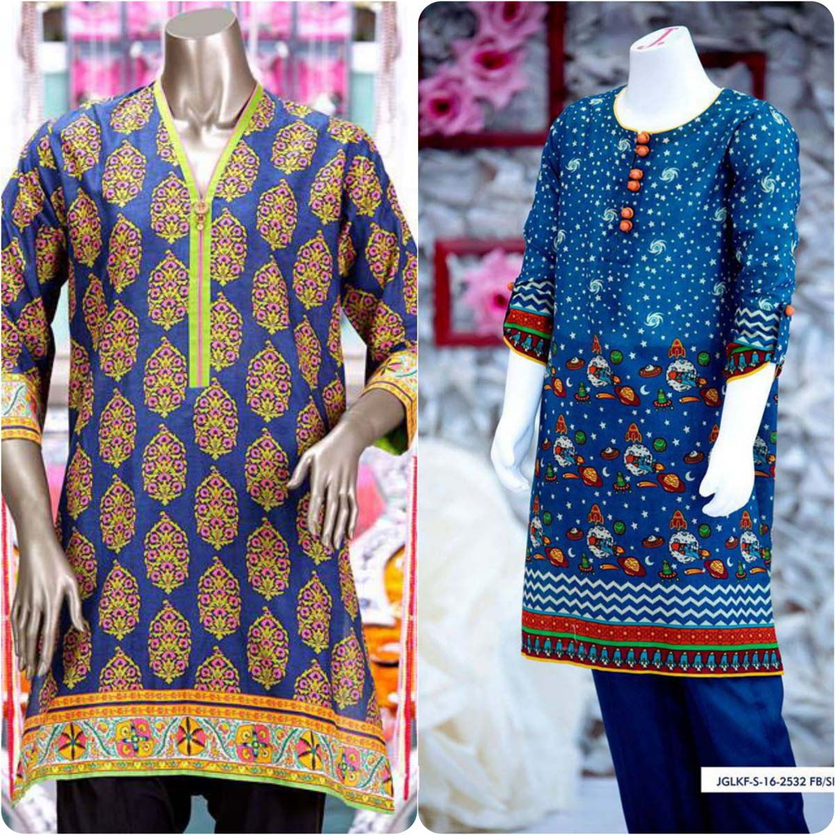Junaid Jamshed Embrodiered Lawn Festive Eid Collection 2016-2017 (24)