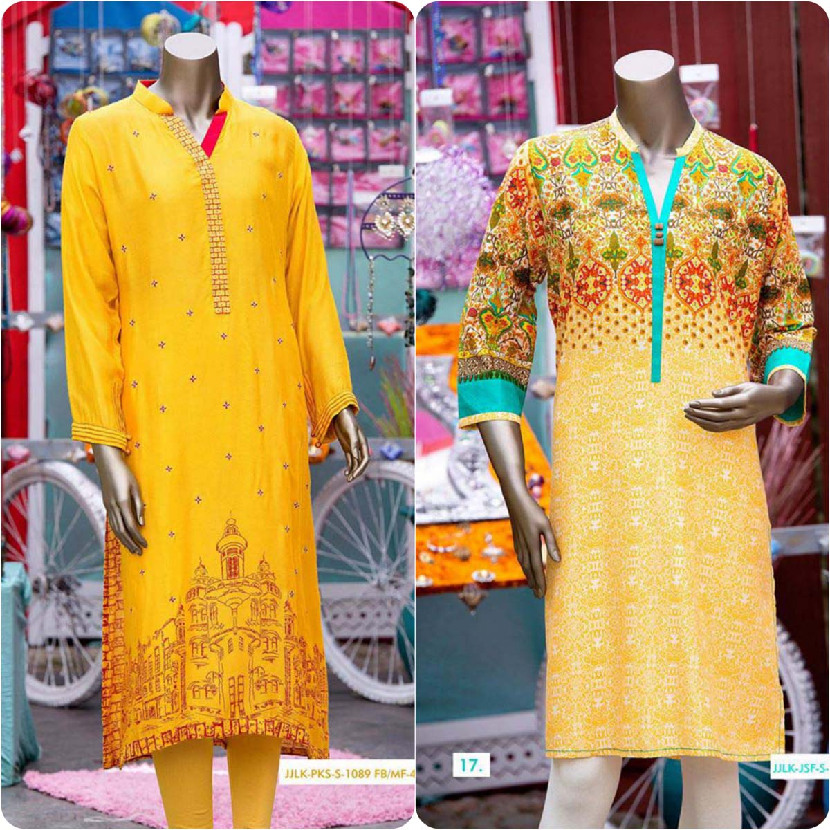Junaid Jamshed Kurti Collection 216