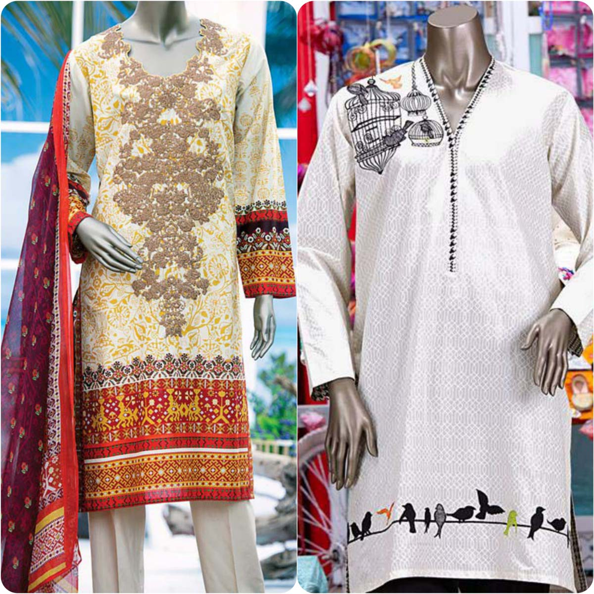 Junaid Jamshed Embrodiered Lawn Festive Eid Collection 2016-2017 (27)