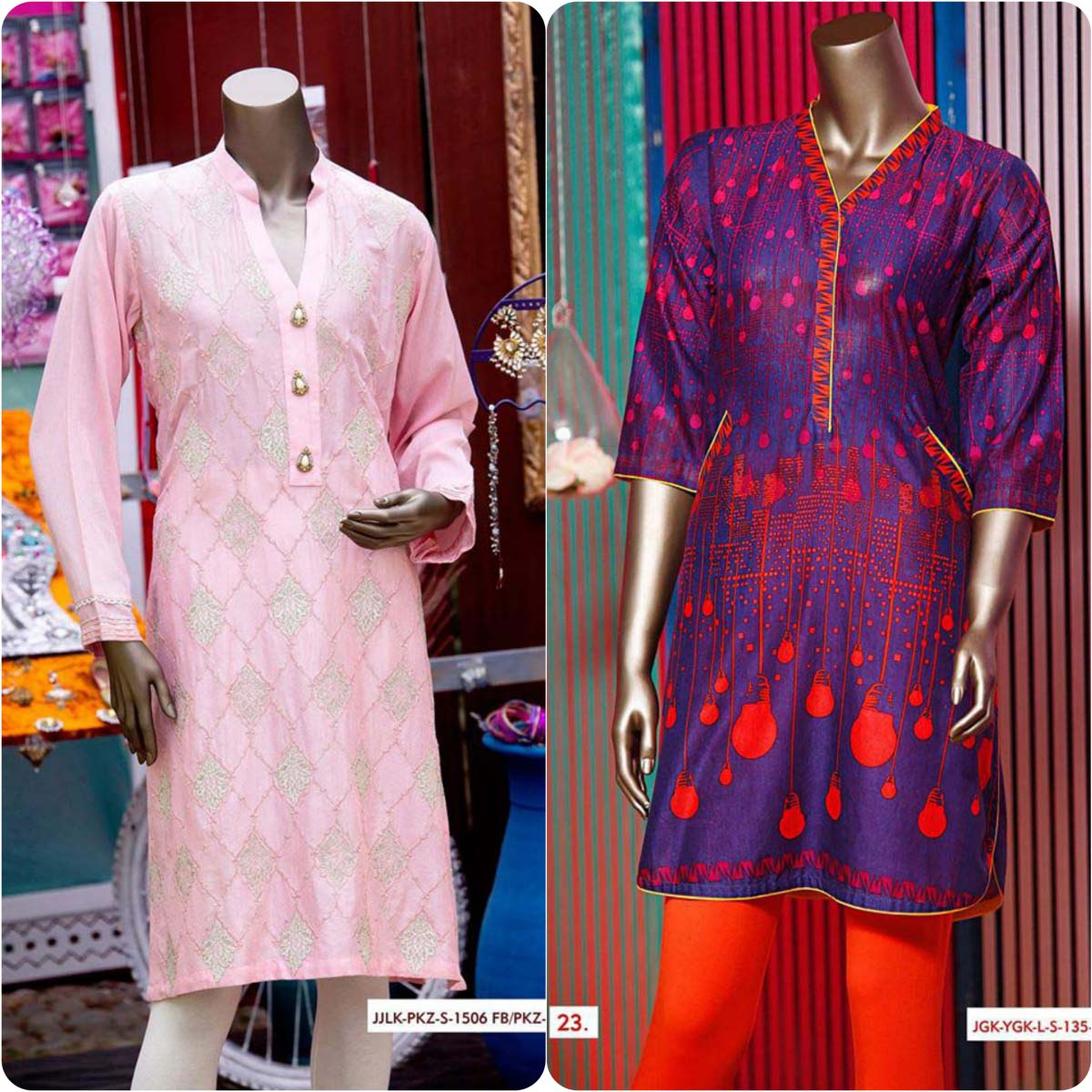 Junaid Jamshed Embrodiered Lawn Festive Eid Collection 2016-2017 (29)