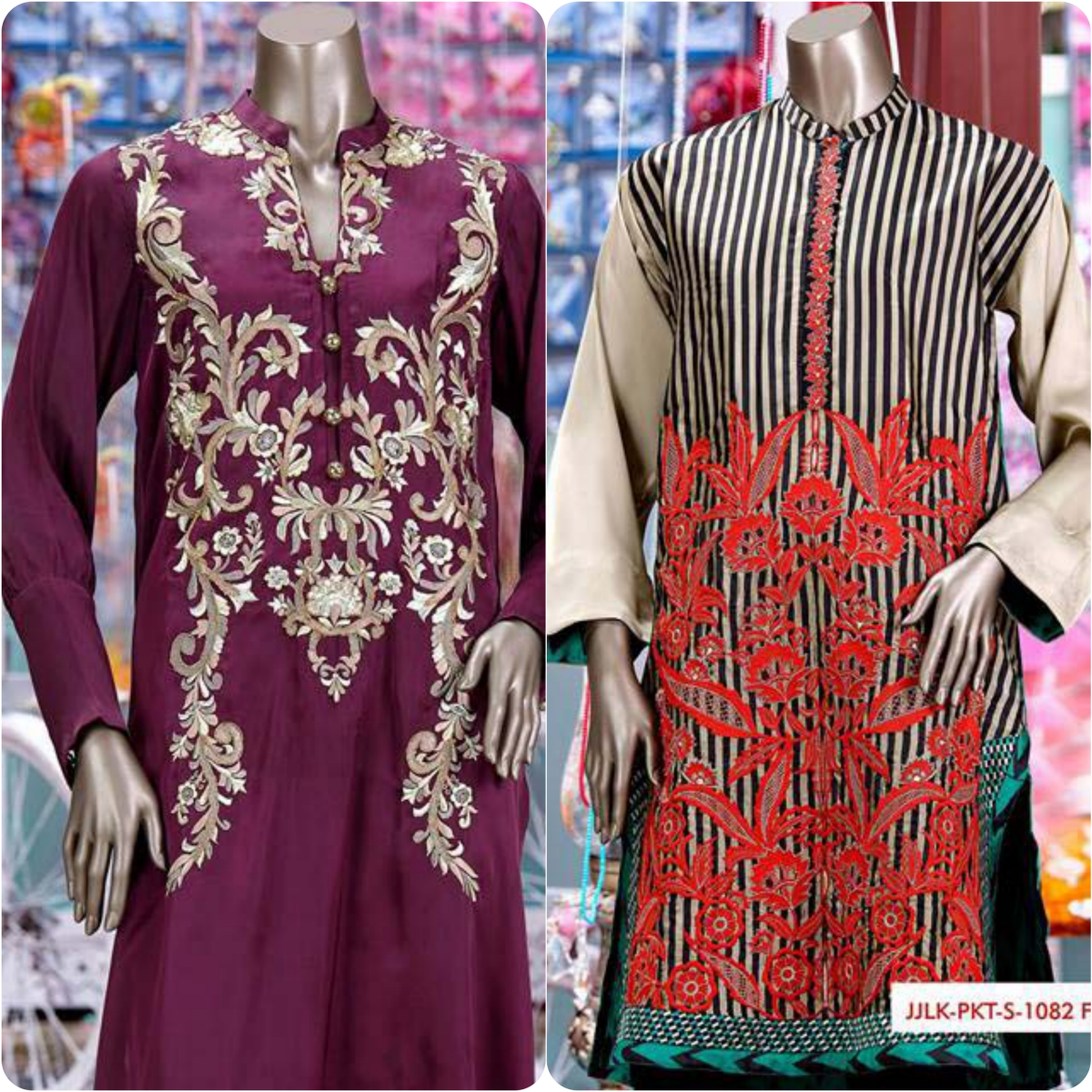 Junaid Jamshed Embrodiered Lawn Festive Eid Collection 2016-2017 (30)