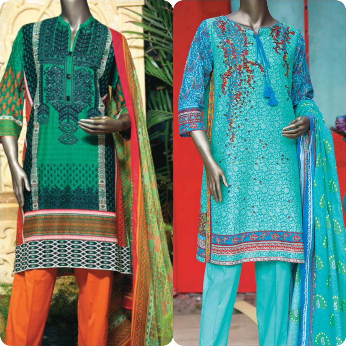 Junaid Jamshed Embrodiered Lawn Festive Eid Collection 2016-2017 (31)