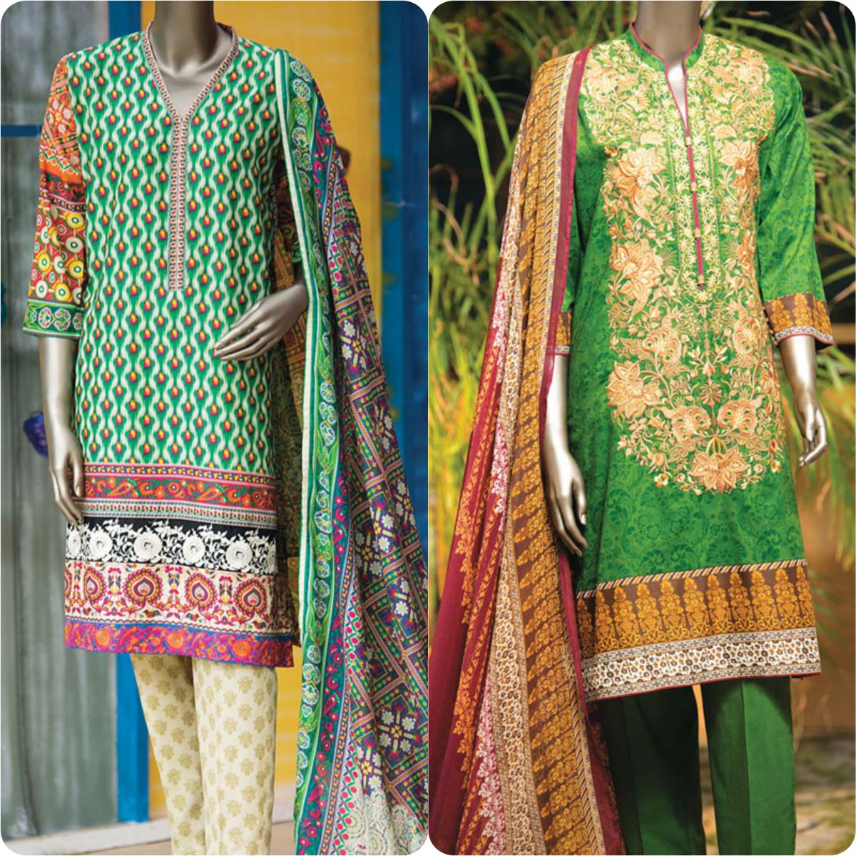 Junaid Jamshed Embrodiered Lawn Festive Eid Collection 2016-2017 (34)