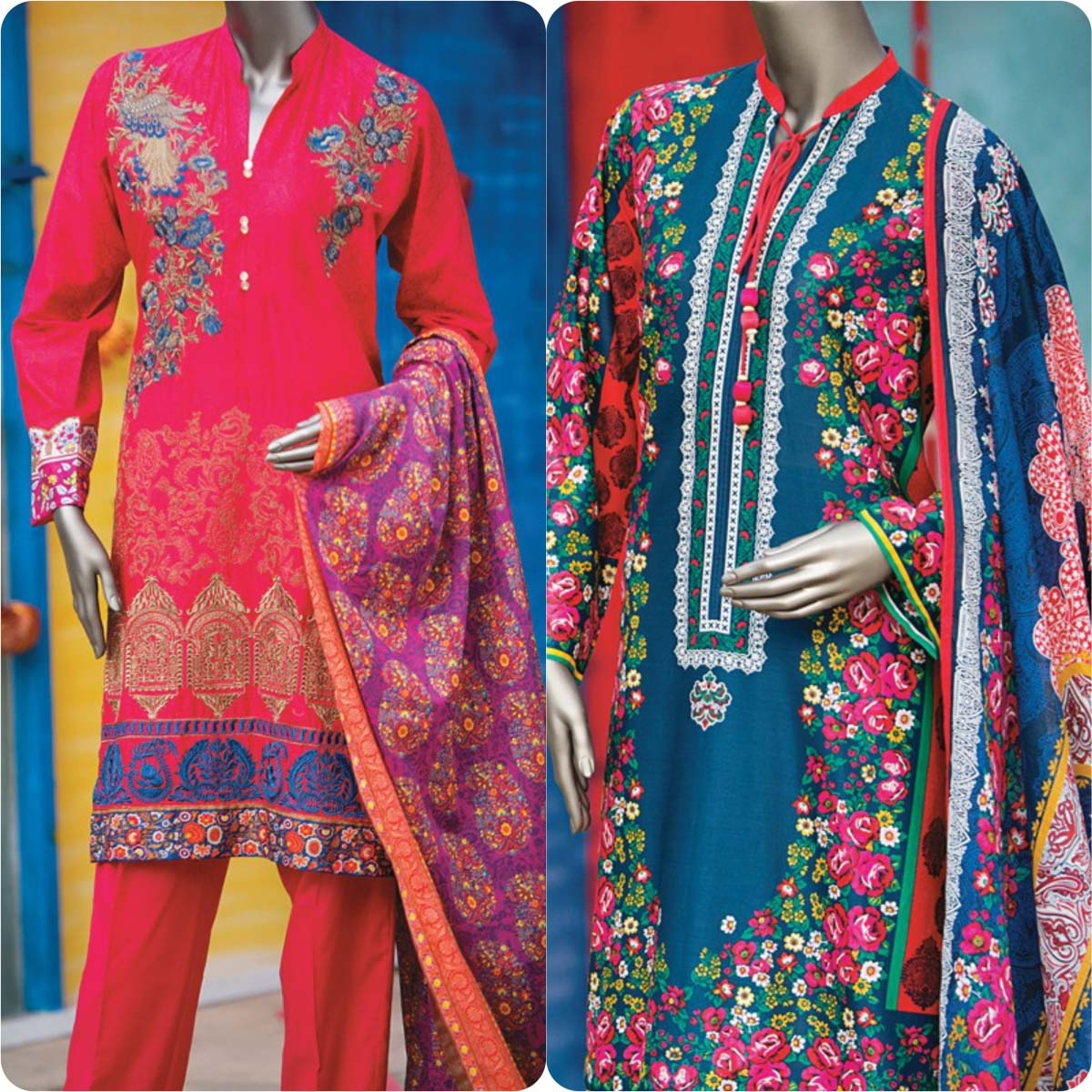 Junaid Jamshed Embrodiered Lawn Festive Eid Collection 2016-2017 (35)