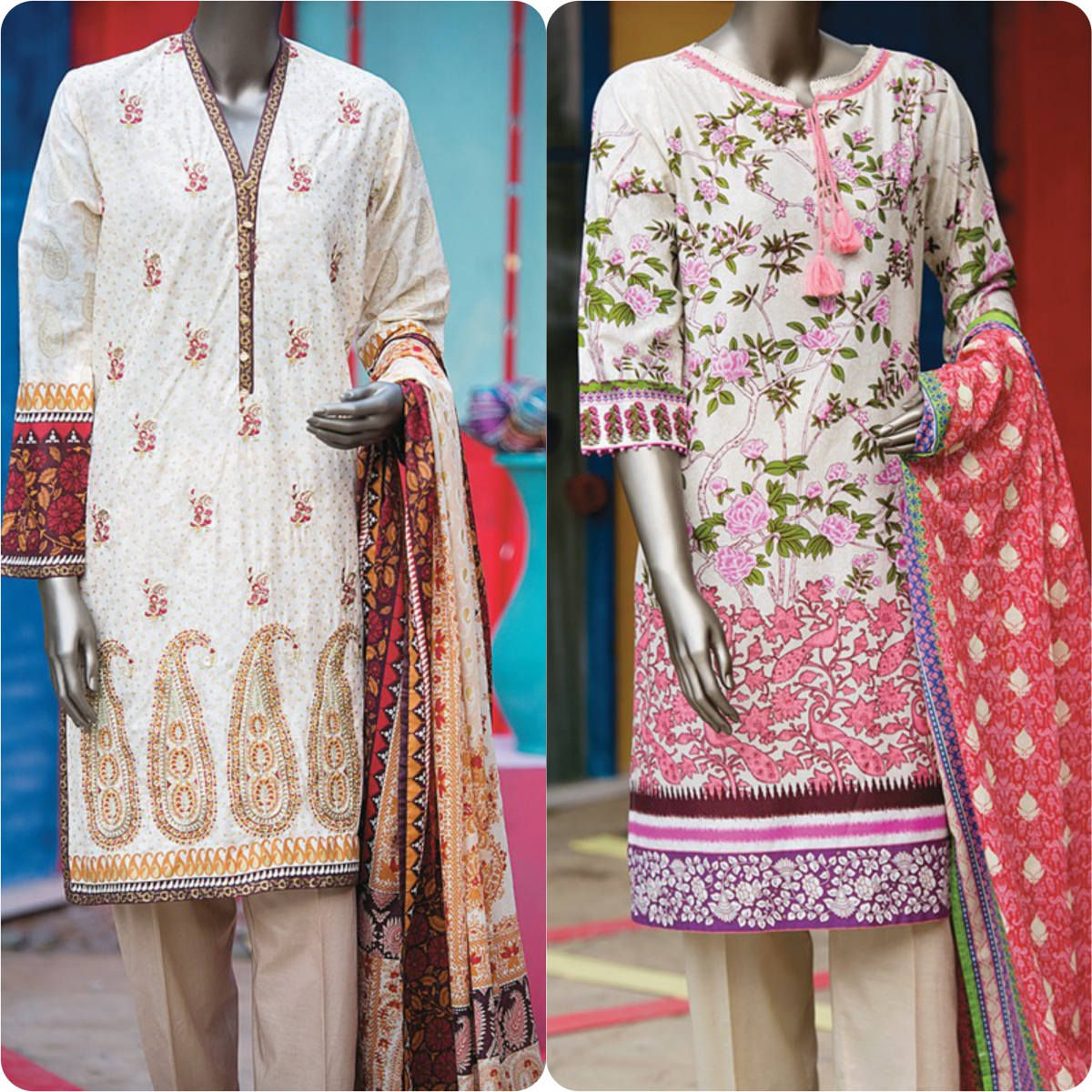 Junaid Jamshed Embrodiered Lawn Festive Eid Collection 2016-2017 (37)