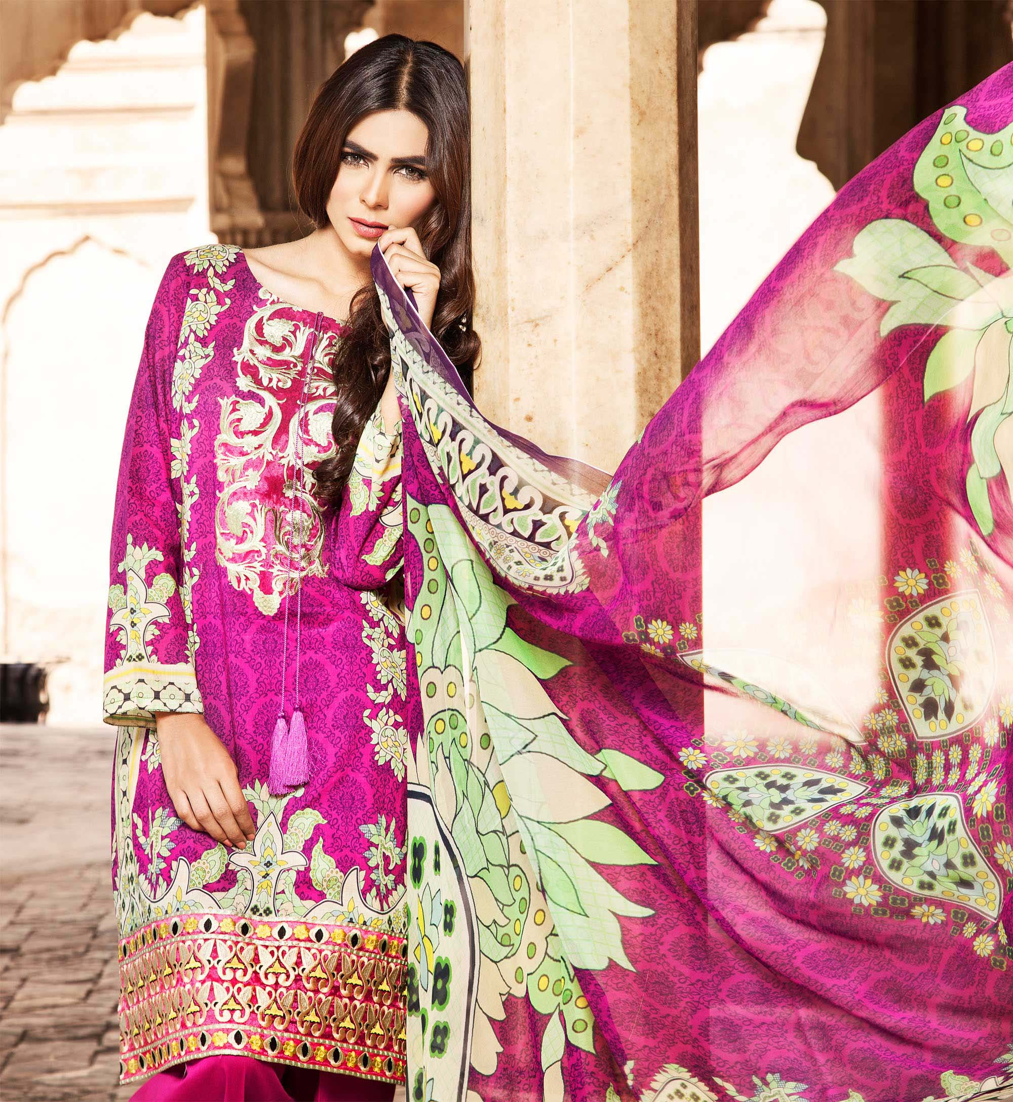 Klakari Eid Wear Lawn Dresses for Women 2016 With Prices (11)