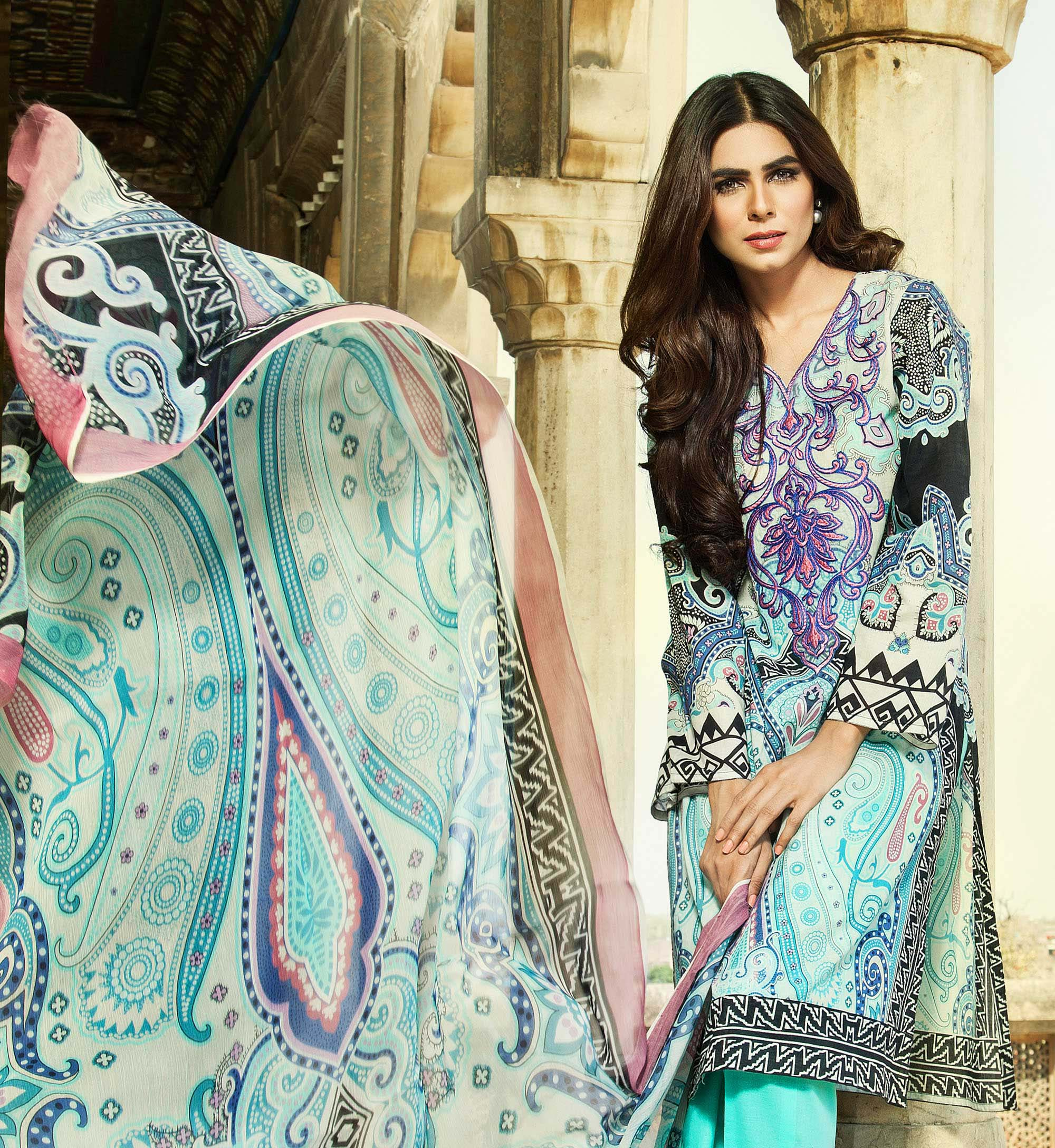 Klakari Eid Wear Lawn Dresses for Women 2016 With Prices (12)