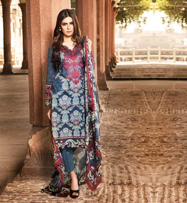 Klakari Eid Wear Lawn Dresses for Women 2016 With Prices (8)