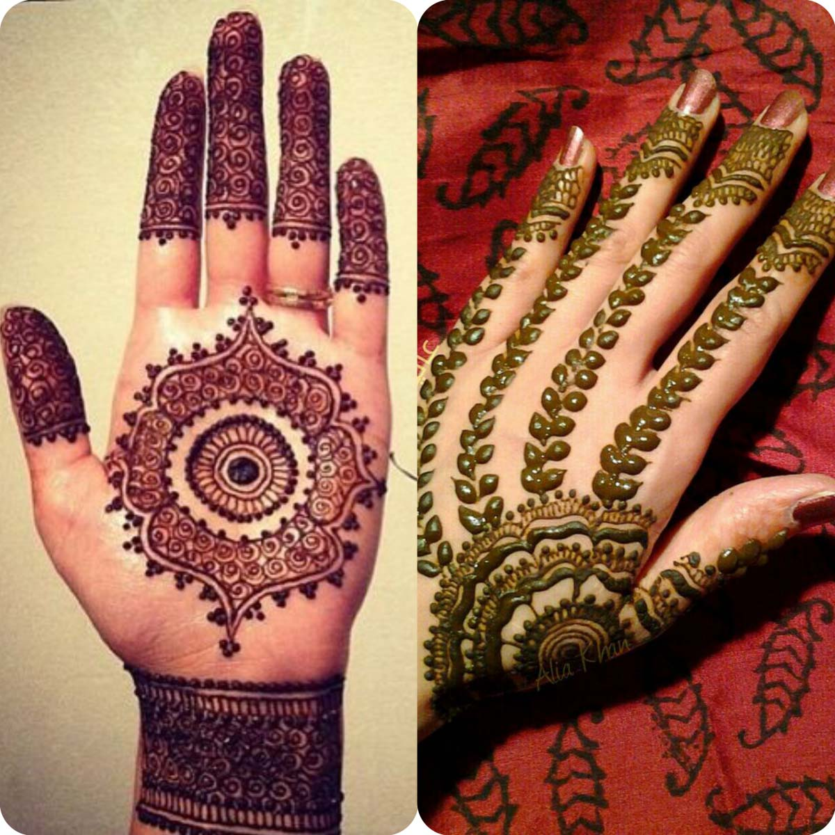 Latest Eid Mehndi Designs for Girls- Speical Eid Collection 2016 (10)
