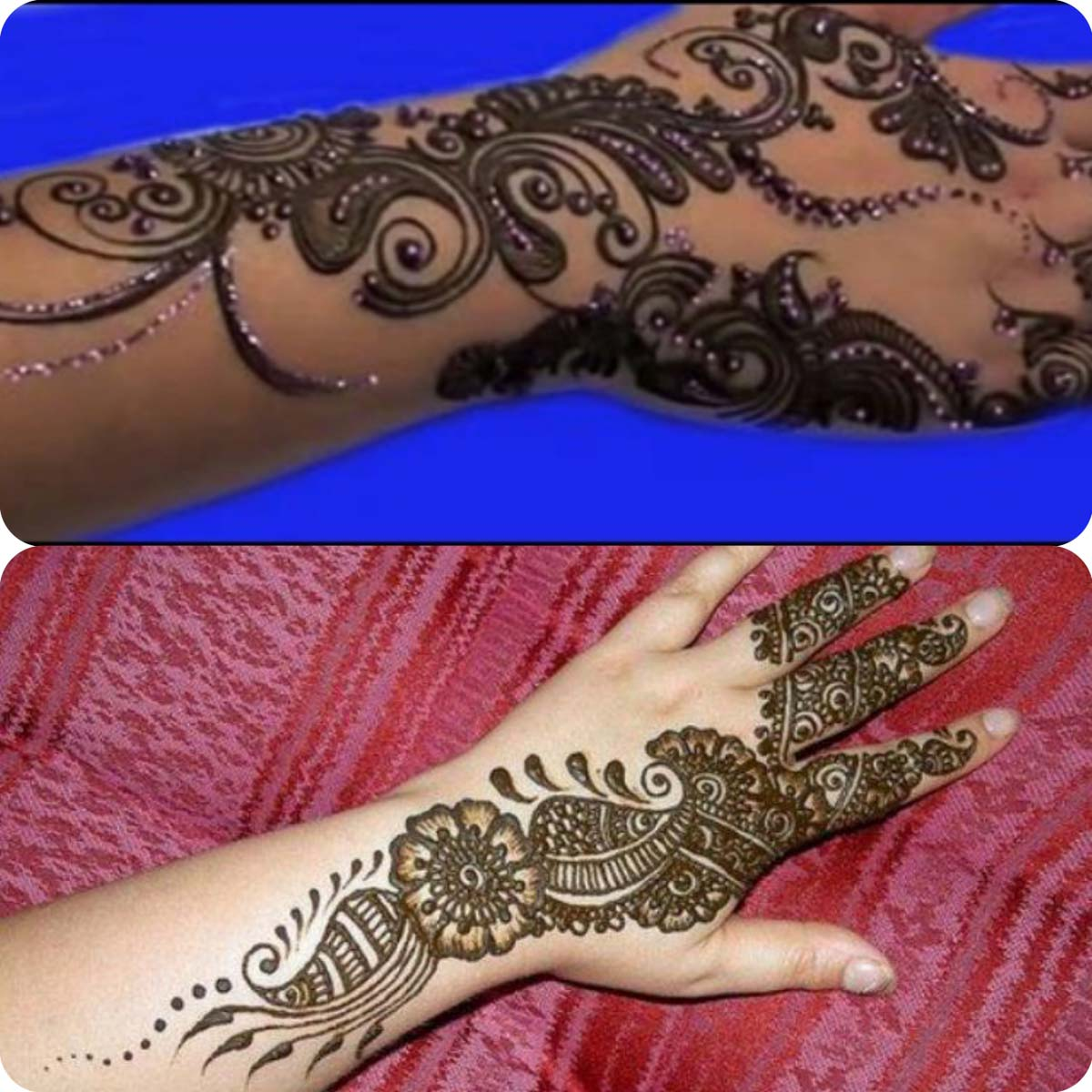 Latest Eid Mehndi Designs for Girls- Speical Eid Collection 2016 (12)