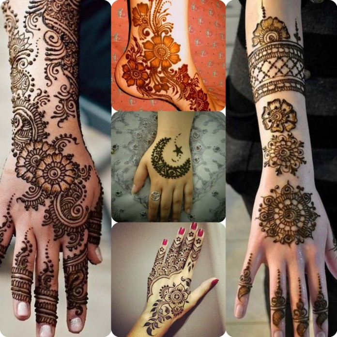 Latest Pakistani mehndi designs