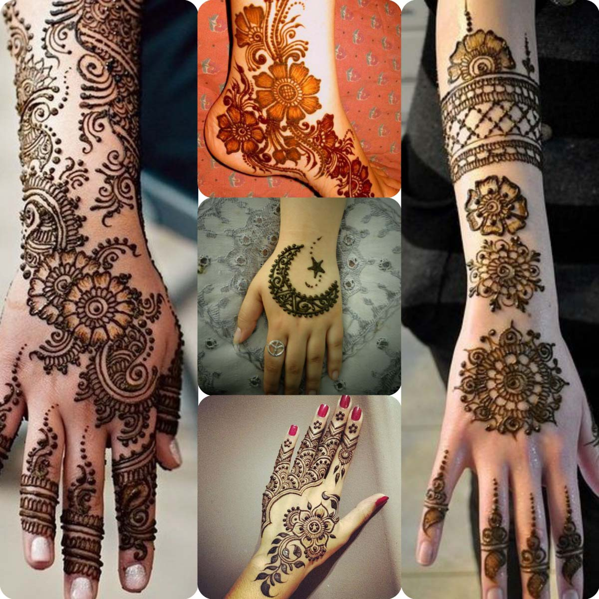 Mehndi design 2017 eid collection - Latest Pakistani Mehndi Designs