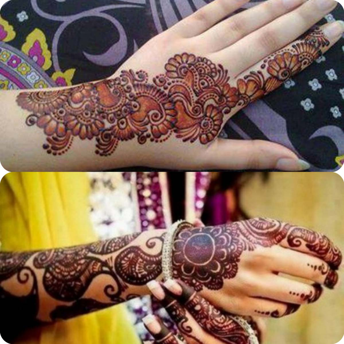 Latest Eid Mehndi Designs for Girls- Speical Eid Collection 2016 (5)