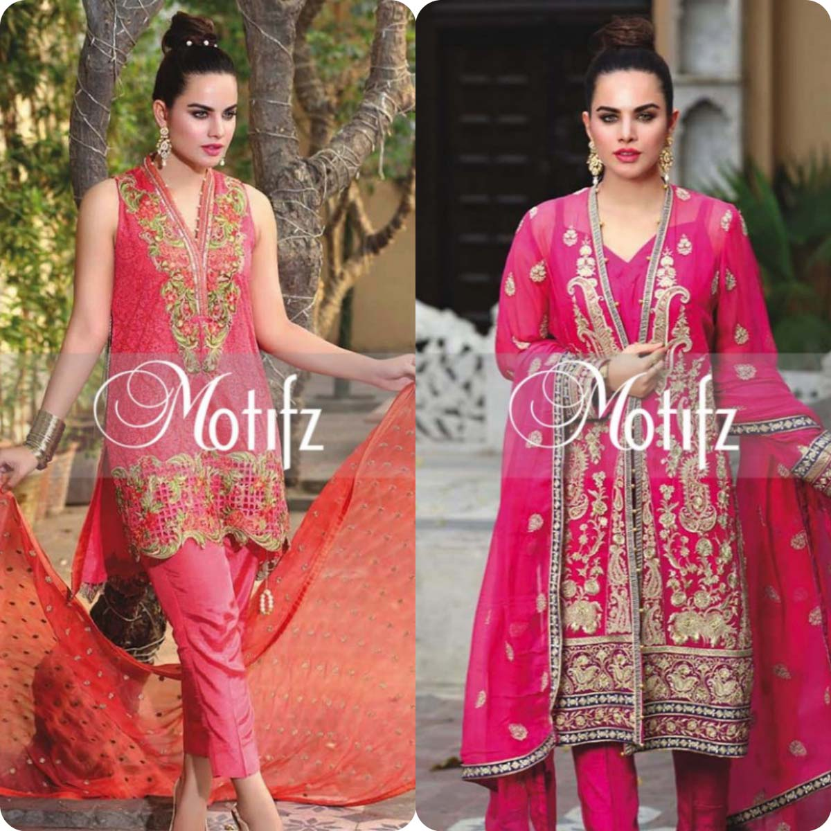 Motifz Party Wear Dresses