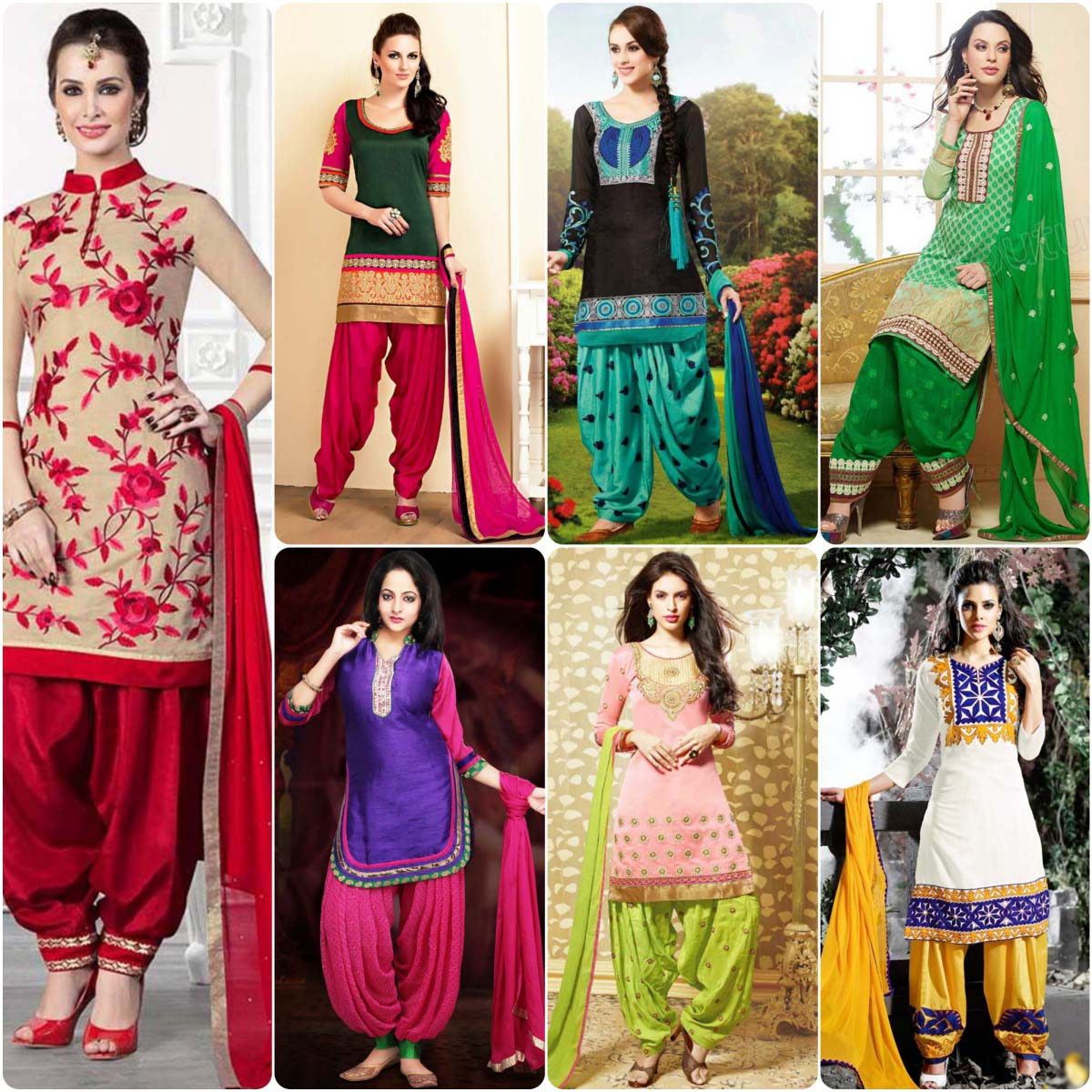 Stylish Patiala Shalwar Kameez Suits Designs | Stylo Planet