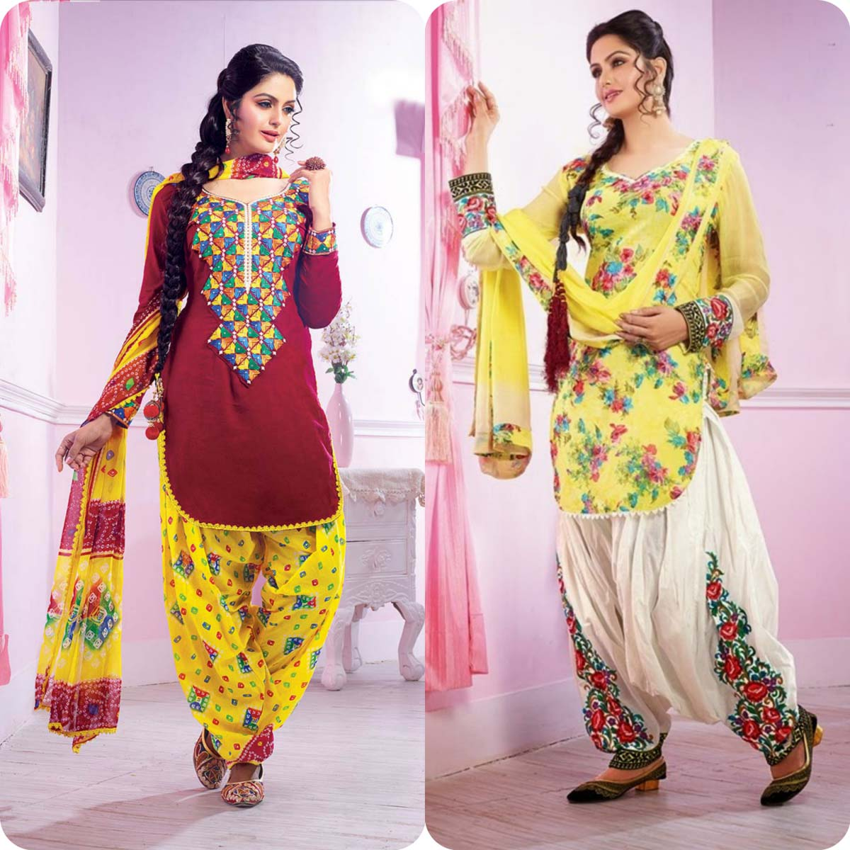 Formal shalwar kameez suits