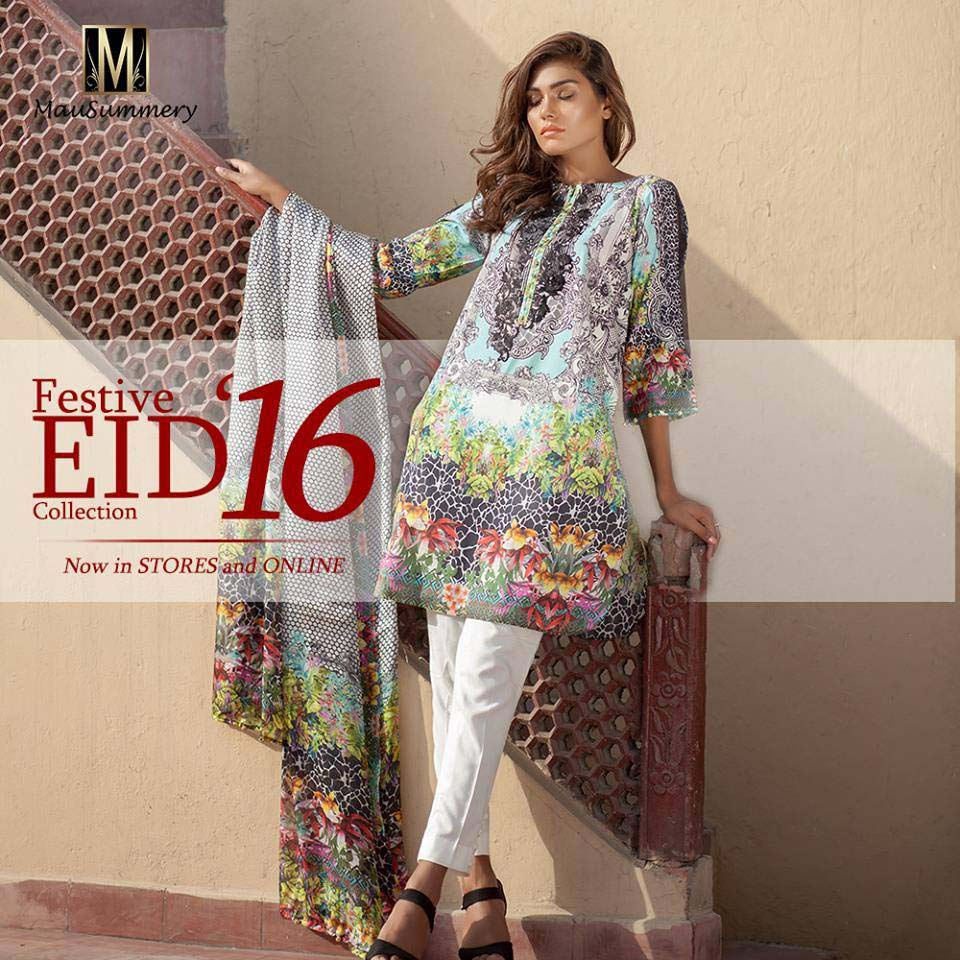 Mausummery Latest Festive Eid Collection 2016-2017- Complete Catalog