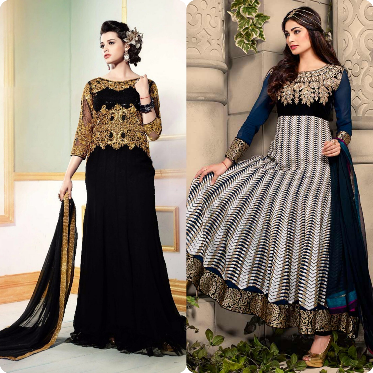 Maxi Style Anarkali Dresses Designs Collection for Women (2)