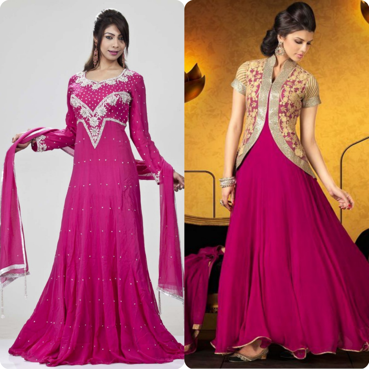 Maxi Style Anarkali Dresses Designs Collection for Women (3)