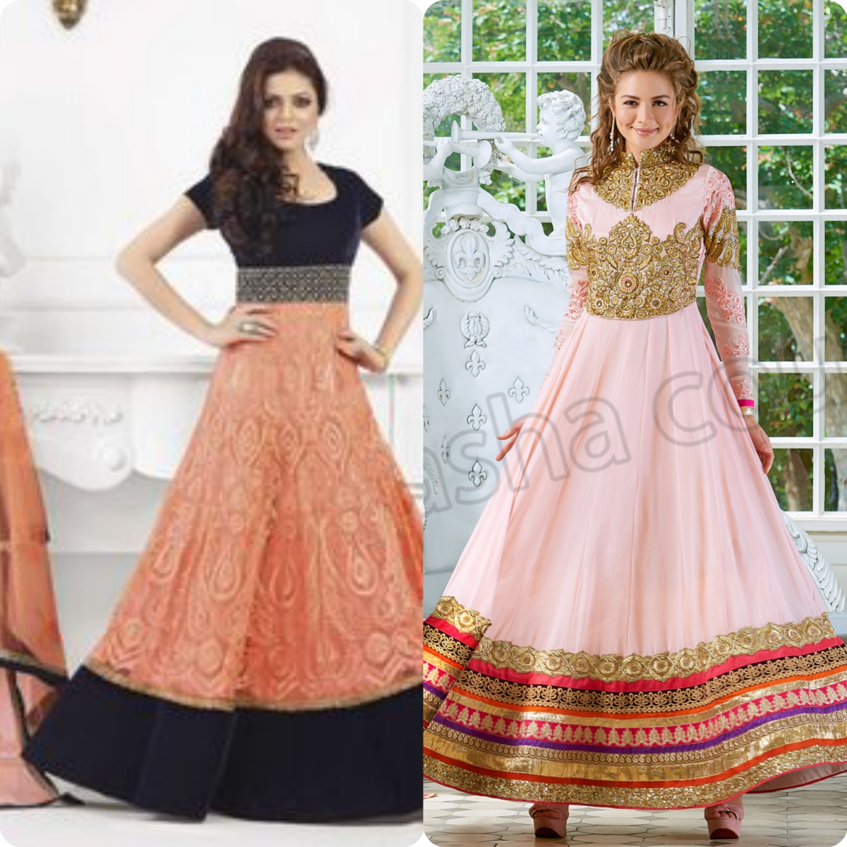 Maxi Style Anarkali Dresses Designs Collection for Women (4)