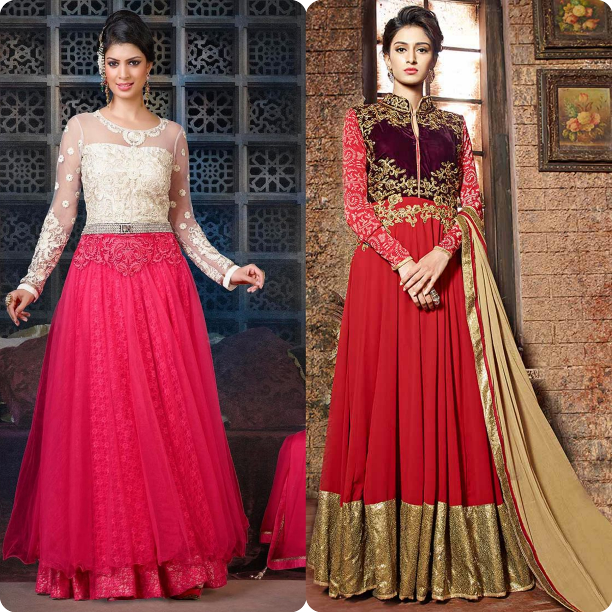 Maxi Style Anarkali Dresses Designs Collection for Women (6)