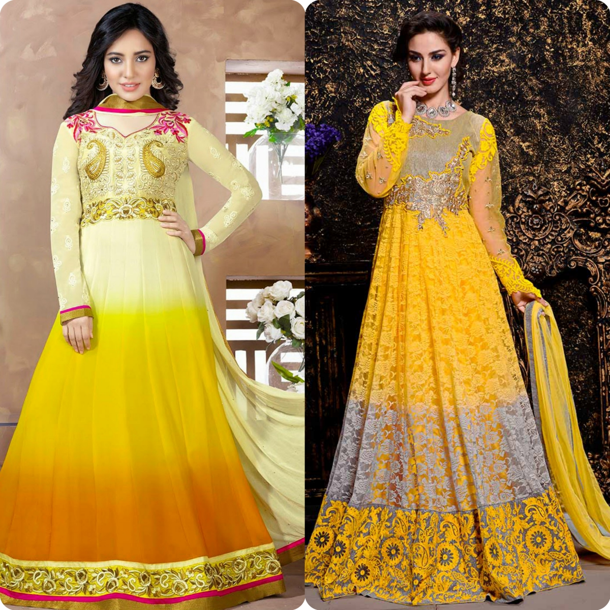 Maxi Style Anarkali Dresses Designs Collection for Women (7)