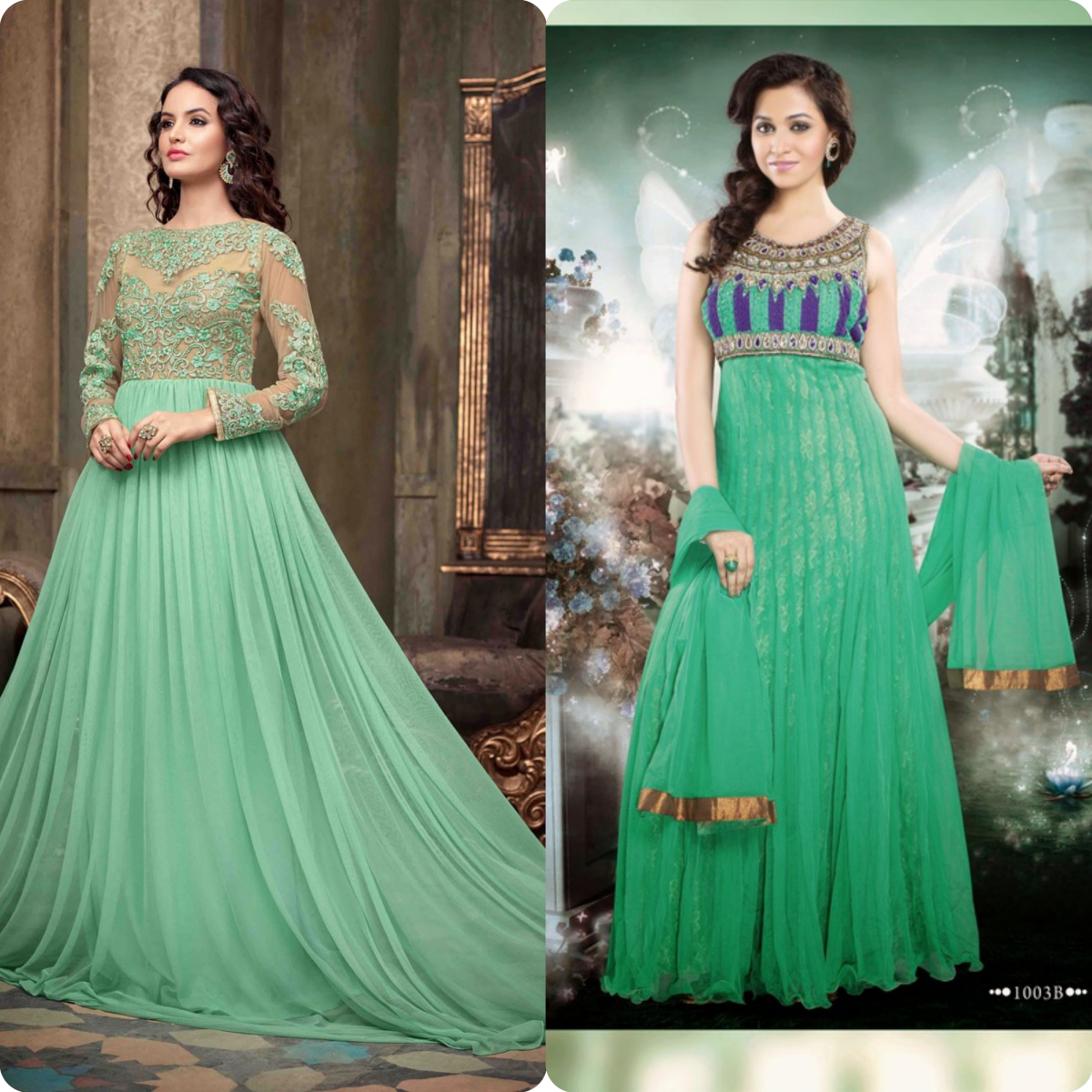 Maxi Style Anarkali Dresses Designs Collection for Women (8)
