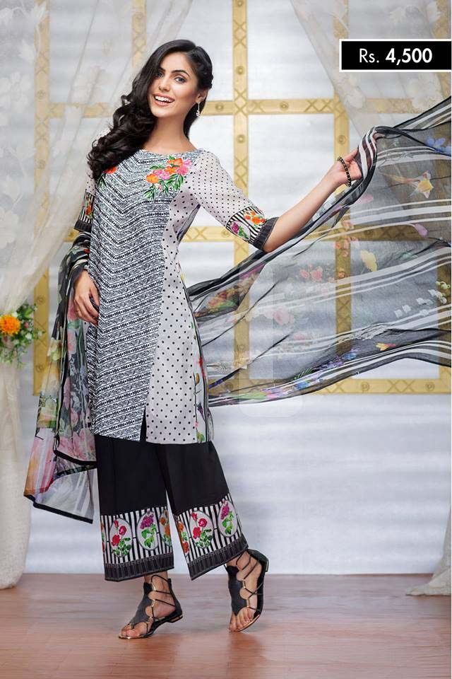 NISHA Eid Collection '16 Floral Essence (2)
