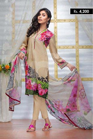 Nishat Linen Latest Eid Collection For Women 2016