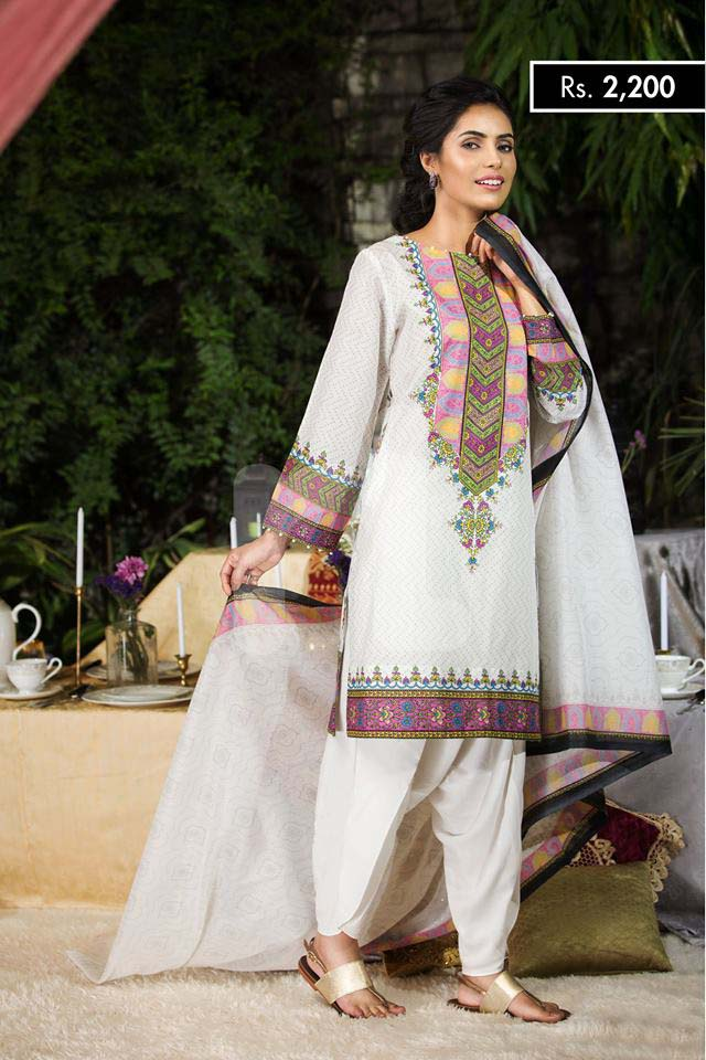 NISHA Eid Collection '16 Garden of Delights (1)