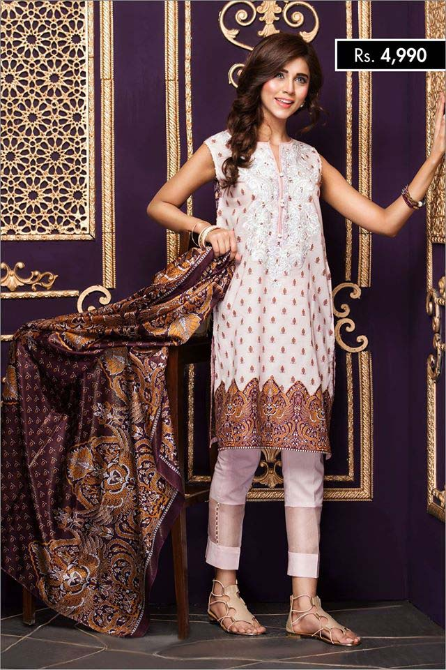 NISHA Eid Collection '16 Gold Fever (1)