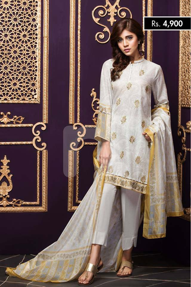 NISHA Eid Collection '16 Gold Fever (2)