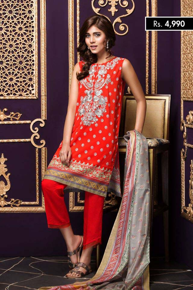 NISHA Eid Collection '16 Gold Fever (3)