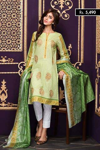 NISHA Eid Collection '16 Gold Fever (4)