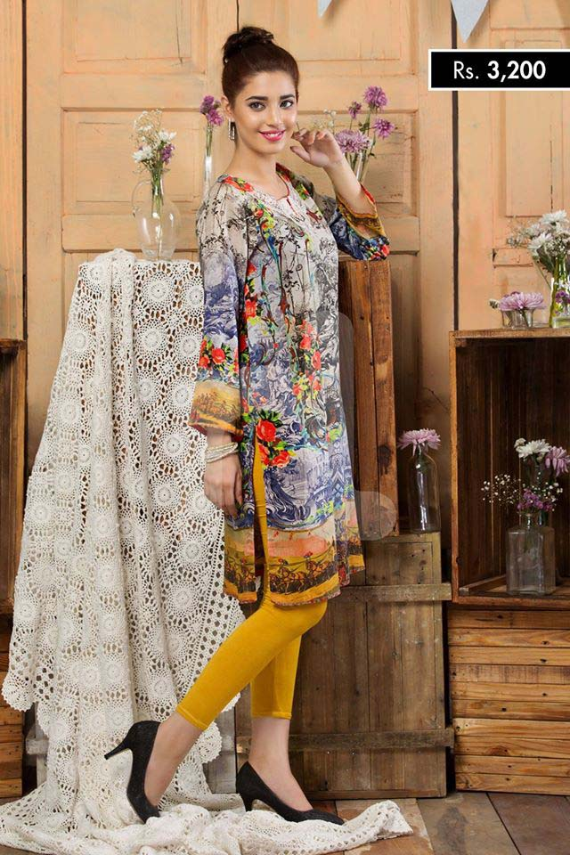 Nishat Linen Summer dresses 2016 for eid