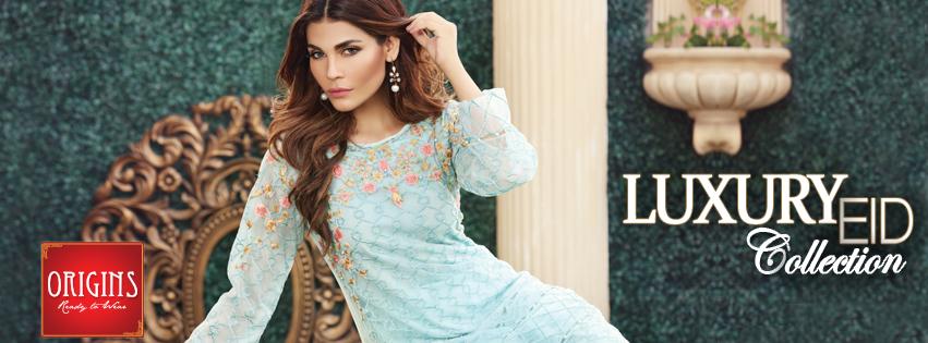 Origins Festive Eid Dresses Collection for Women 2016-2017 (1)
