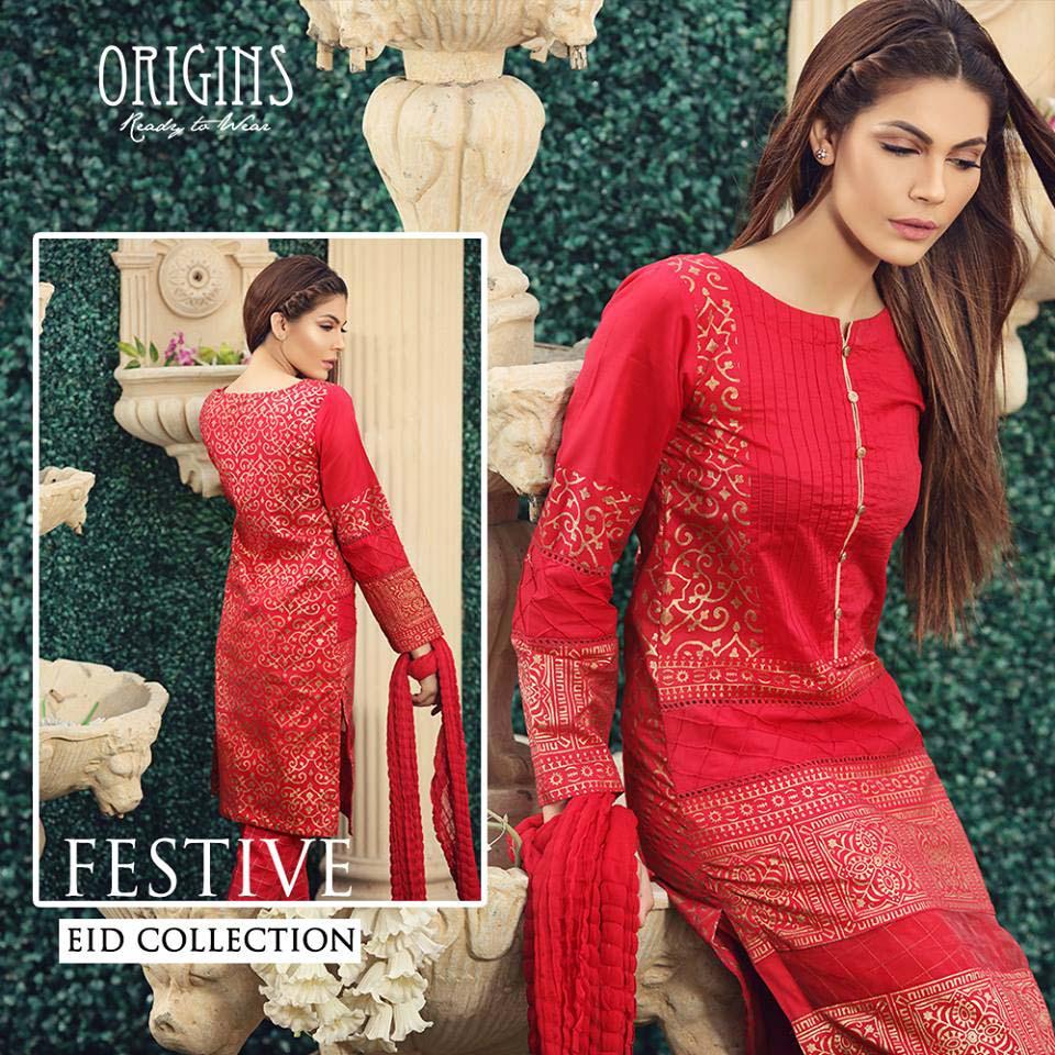 Origins Festive Eid Dresses Collection for Women 2016-2017 (10)