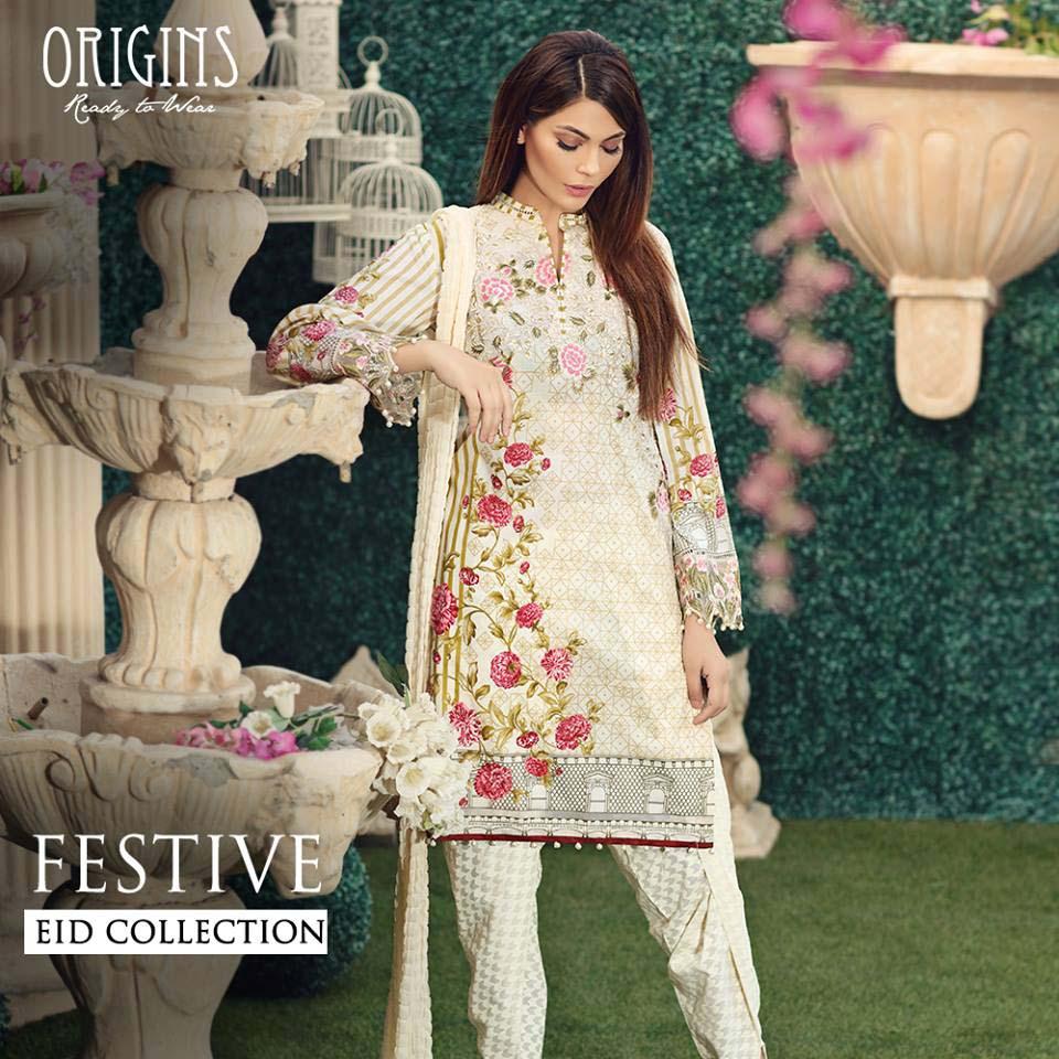 Origins Festive Eid Dresses Collection for Women 2016-2017 (11)