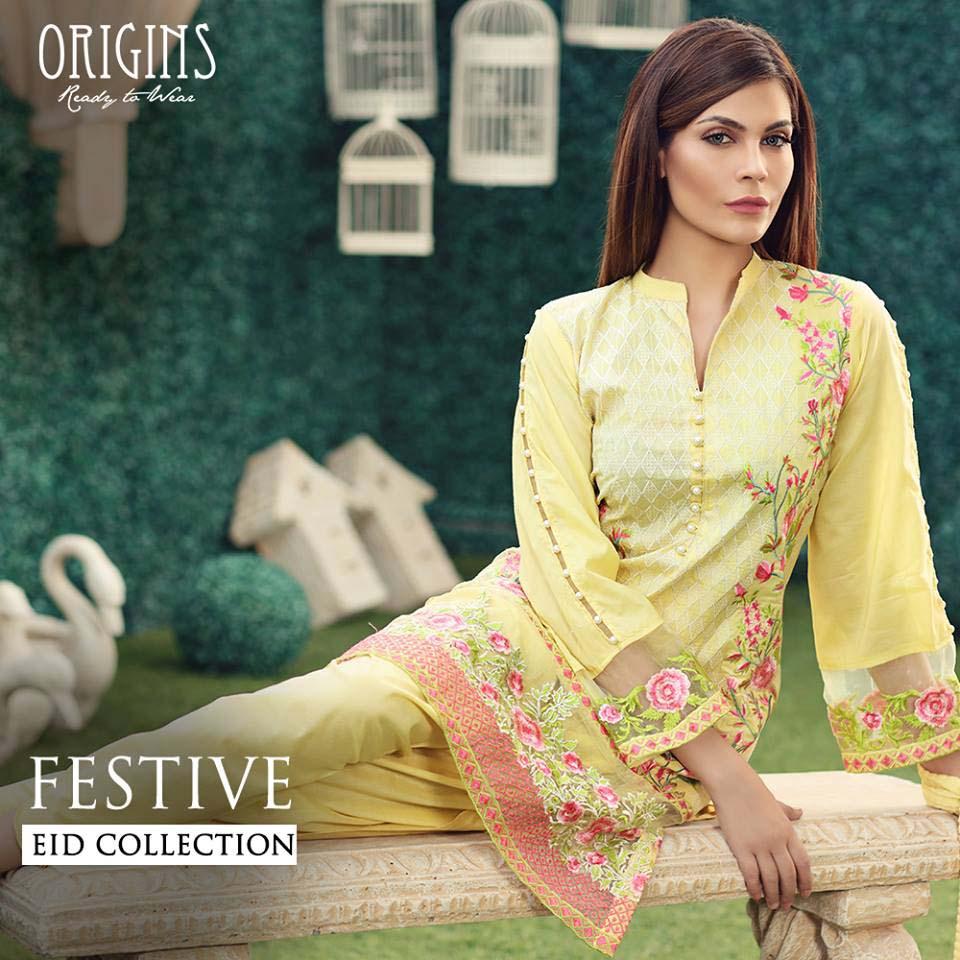 Origins Festive Eid Dresses Collection for Women 2016-2017 (14)