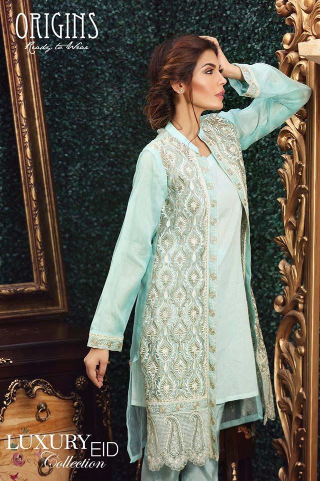 Origins Festive Eid Dresses Collection for Women 2016-2017 (2)