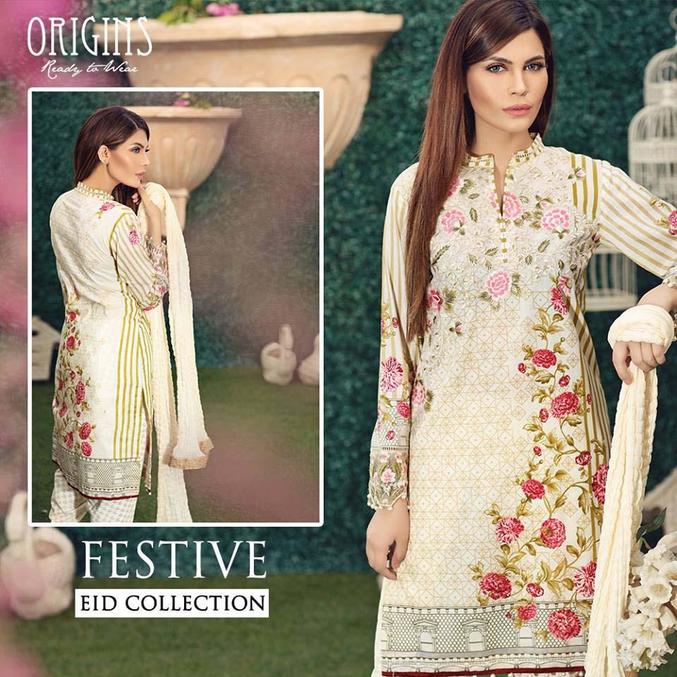 Origins Festive Eid Dresses Collection for Women 2016-2017 (6)