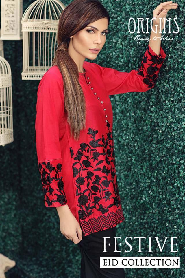 Origins Festive Eid Dresses Collection for Women 2016-2017 (8)