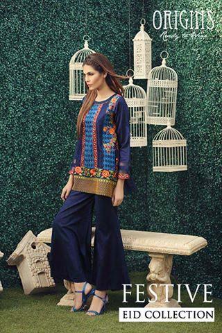 Origins Festive Eid Dresses Collection for Women 2016-2017