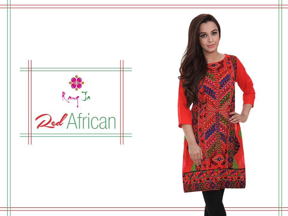 Rang Ja Colorful and Trendy Eid Collection for Girls 2016
