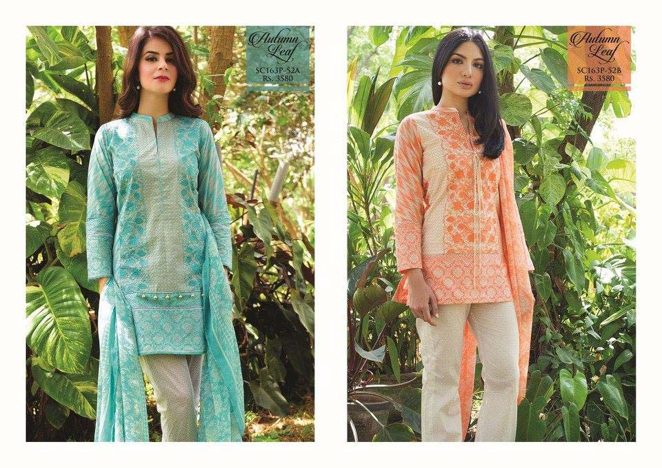 Strangi Eid Collection 2016- 3 piece suit with Chiffon Dupatta by Bonanza (11)