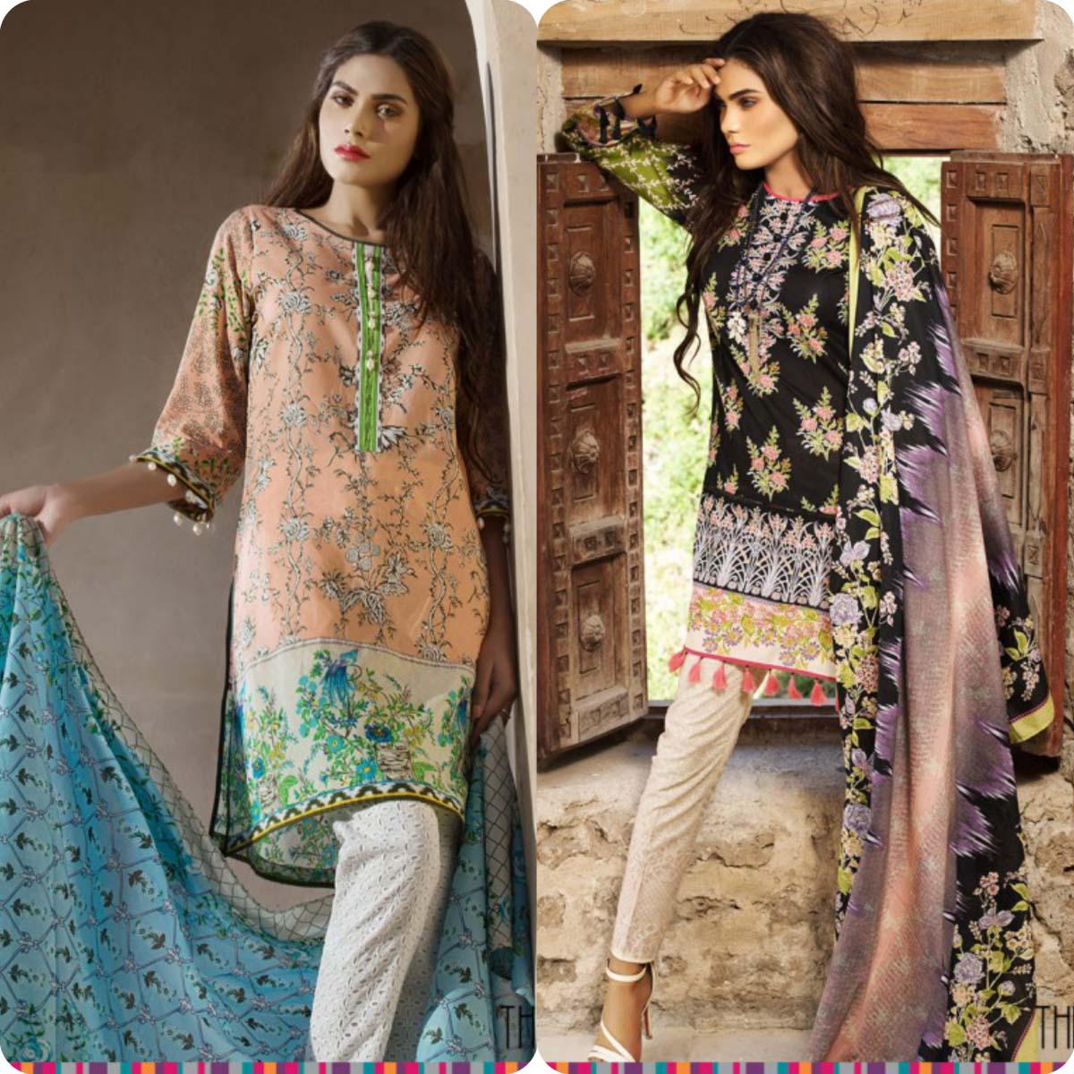 Stylish Embroidered Eid KurtisTunics for Girls By THREDZ 2016-2016 Complete Look-Book (10)