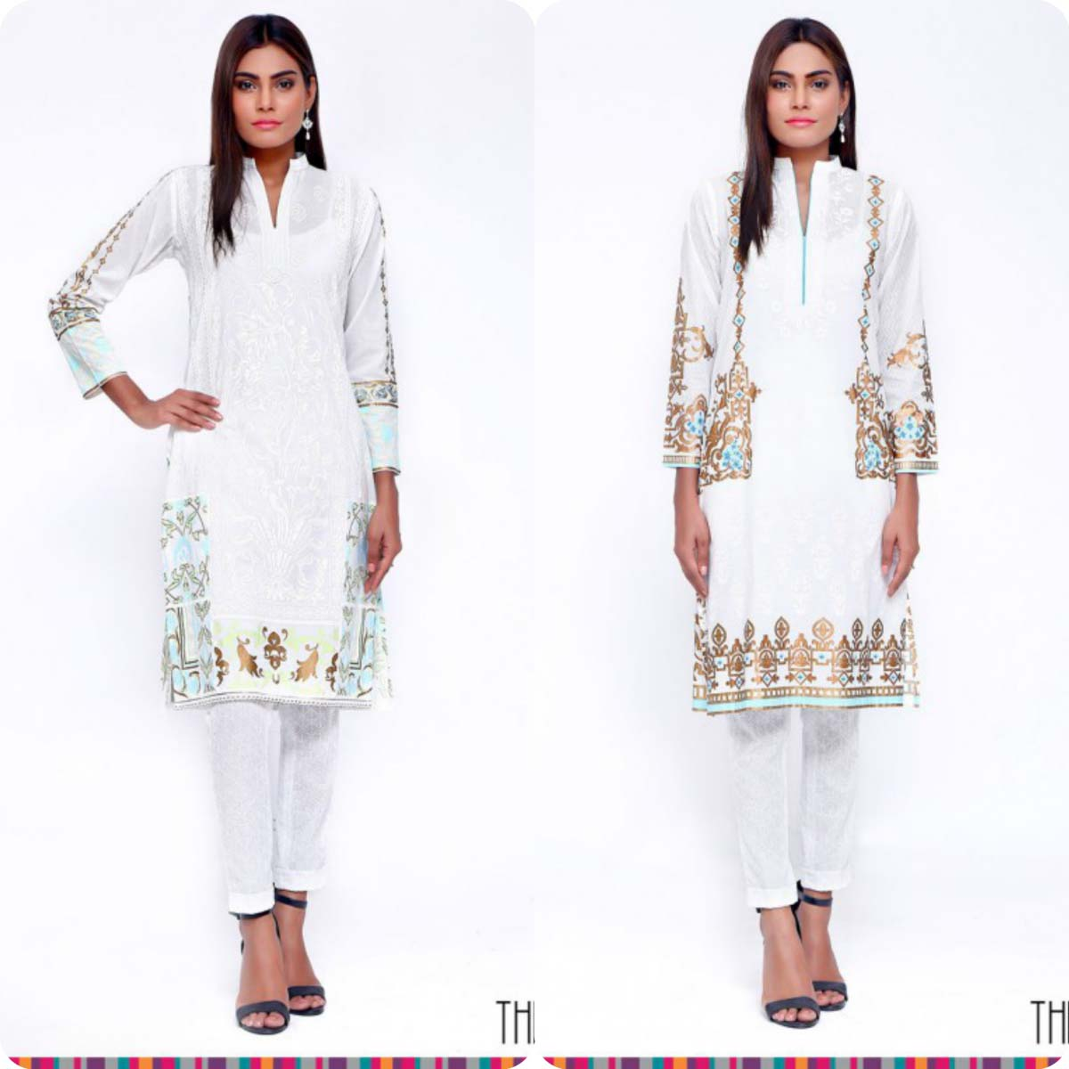 Stylish Embroidered Eid KurtisTunics for Girls By THREDZ 2016-2016 Complete Look-Book (11)
