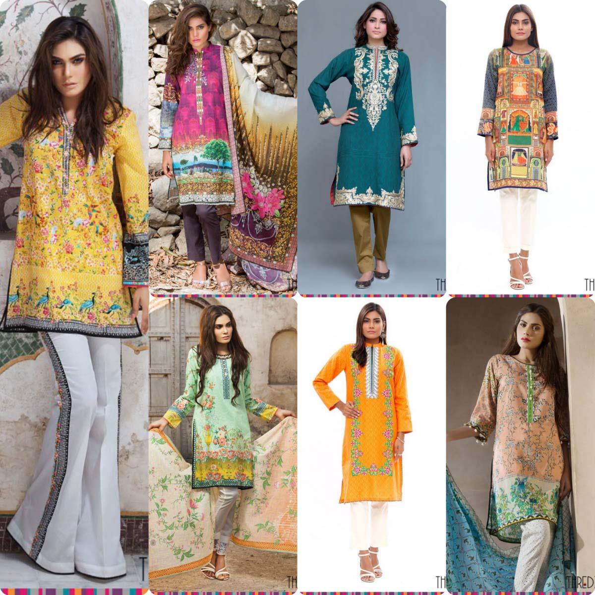 e08f0f50bbaf Latest Thredz Eid Collection for Women 2016
