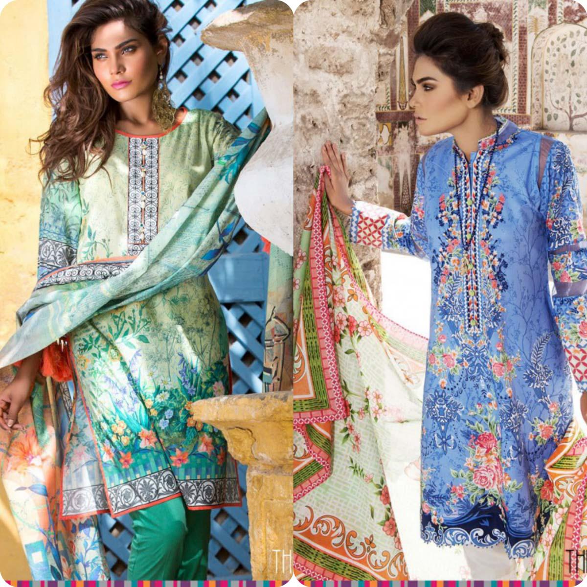 Stylish Embroidered Eid KurtisTunics for Girls By THREDZ 2016-2016 Complete Look-Book (12)