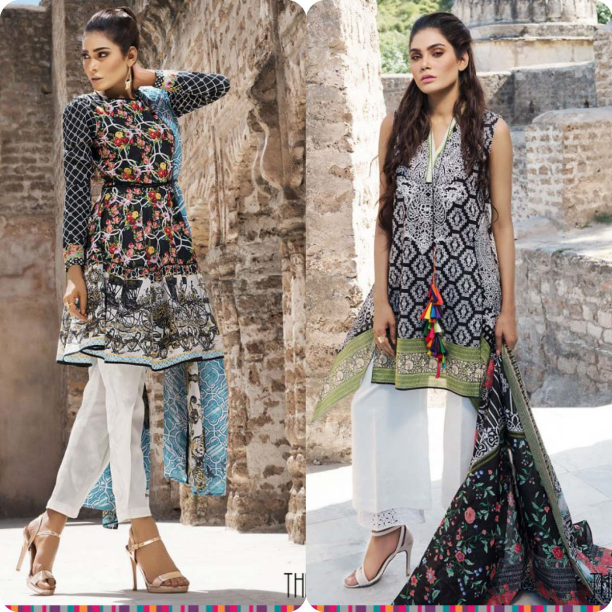 Stylish Embroidered Eid KurtisTunics for Girls By THREDZ 2016-2016 Complete Look-Book (13)